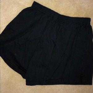 Black soffee shorts